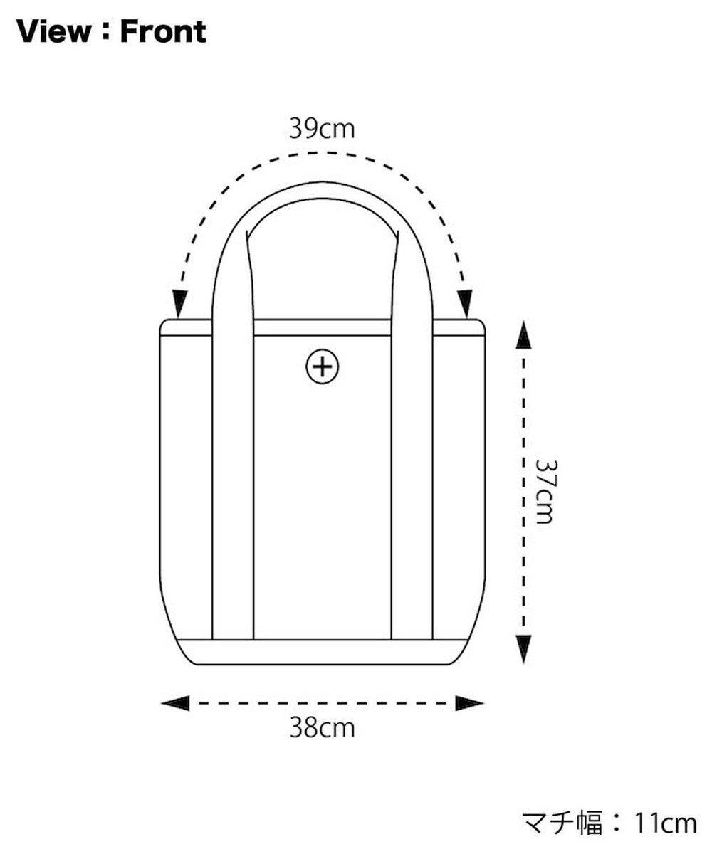 +RING 撥水トートバッグTALL ネイビー SR184 紺