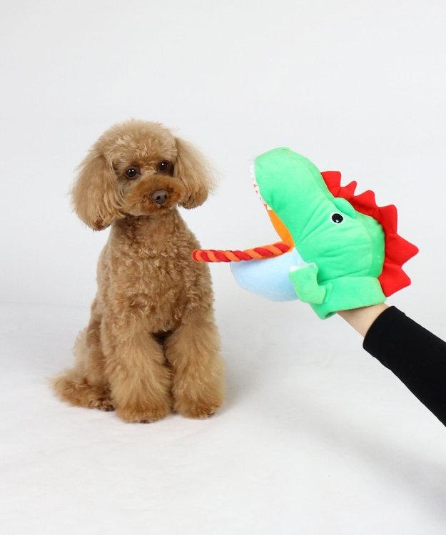 PET PARADISE なりきりペッツ 犬用おもちゃ パペットトイ恐竜