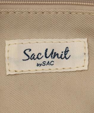 SAC チェック柄金手トート/サック SAC Unit /リーリー ベージュ