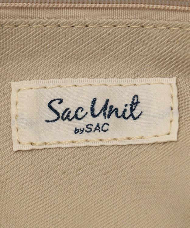 SAC チェック柄金手トート/サック SAC Unit /リーリー
