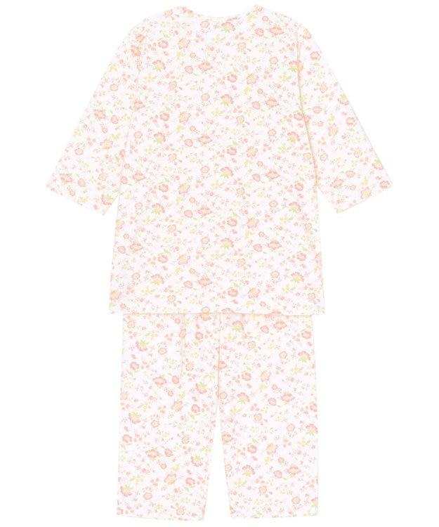 Wing 【お値打ち品パジャマ】綿100%つる花柄 ウイング/ワコール EP8918