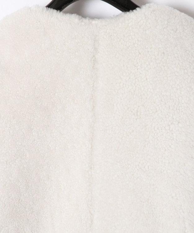 GRACE CONTINENTAL ボーダー配色ファージャケット