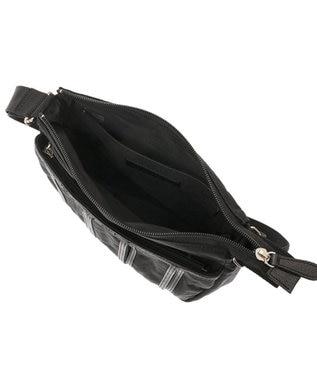 Les sacs Adam Les sacs Adam ルサックアダム ステビアII 薄マチショルダーバッグ ブラック