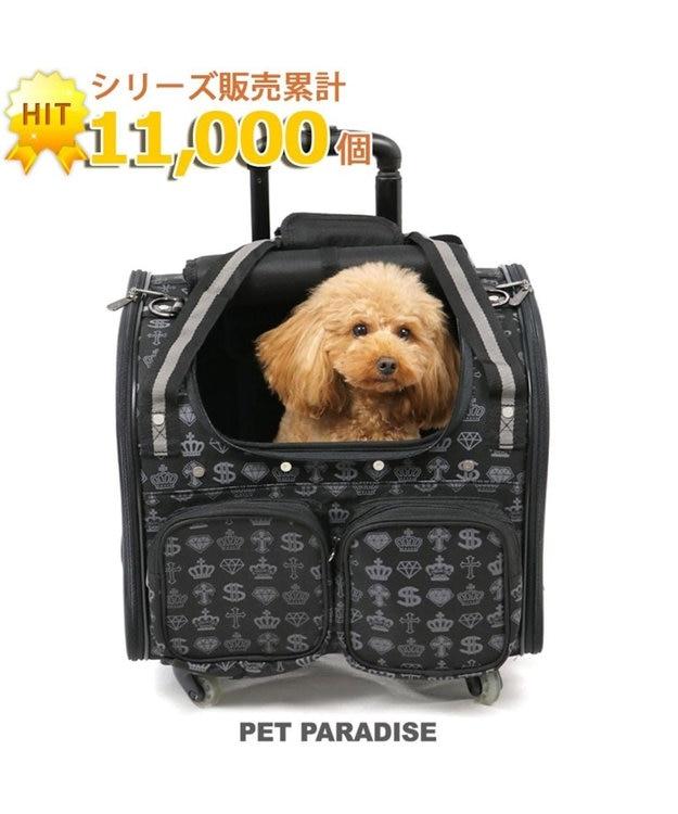 PET PARADISE ペットパラダイス コロコロキャリーM 王冠 四輪