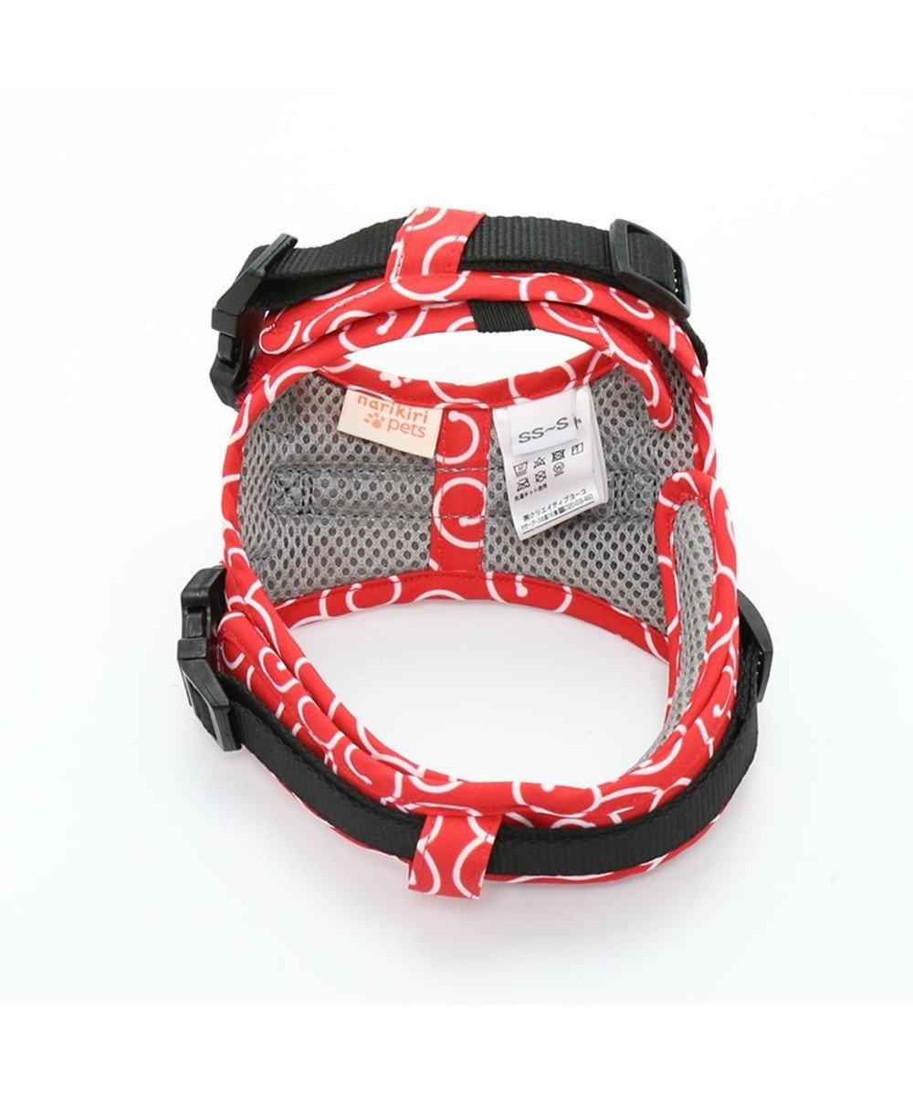 PET PARADISE なりきりペッツ ハーネス 唐草(赤)【3S】 赤