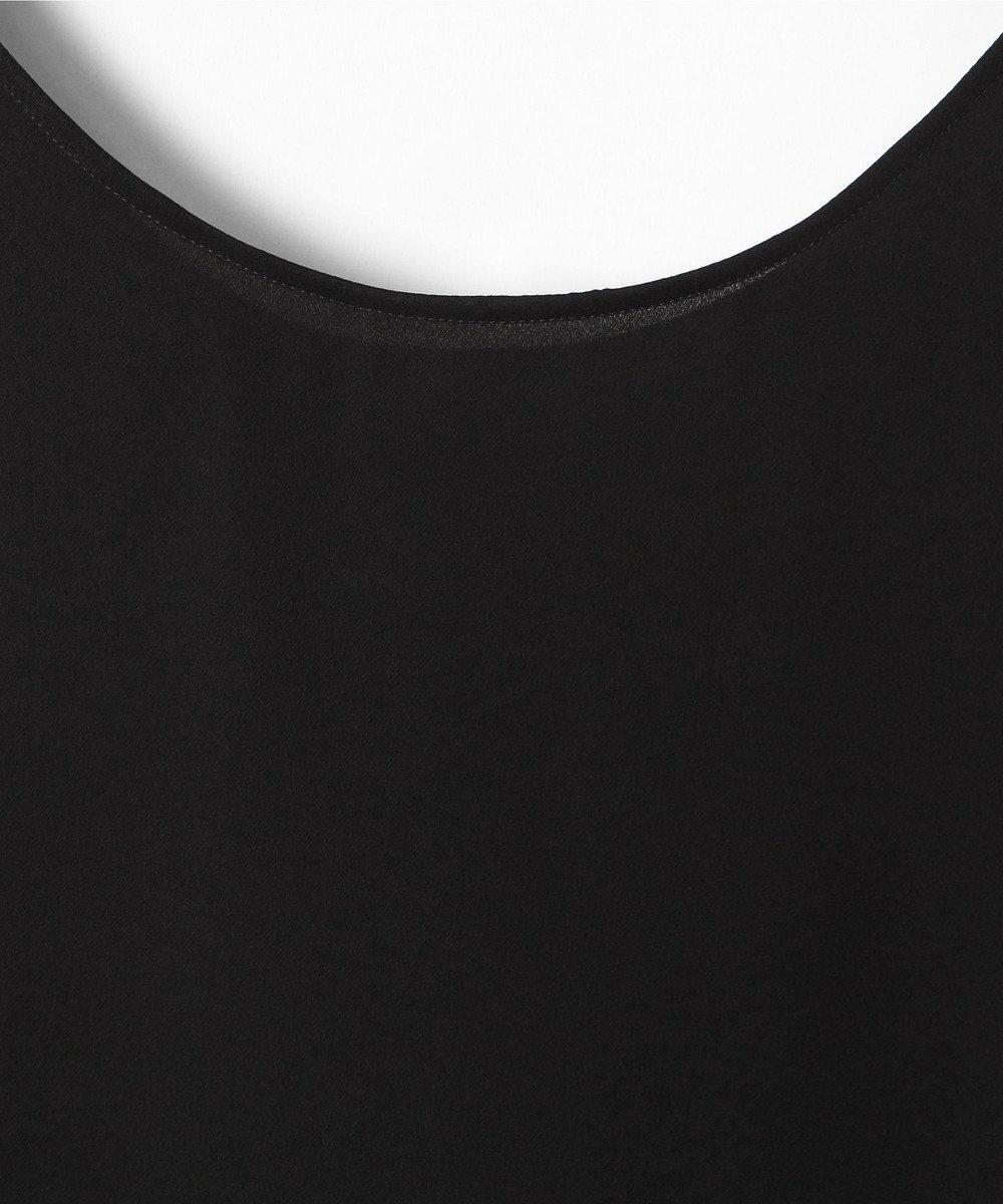 GRACE CONTINENTAL サテンノースリーブ ブラック