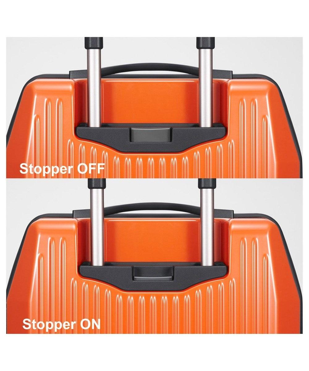 ACE BAGS & LUGGAGE ≪プロテカ フリーウォーカーD≫1~2泊程度のご旅行用スーツケース 31L  マンダリンオレンジ