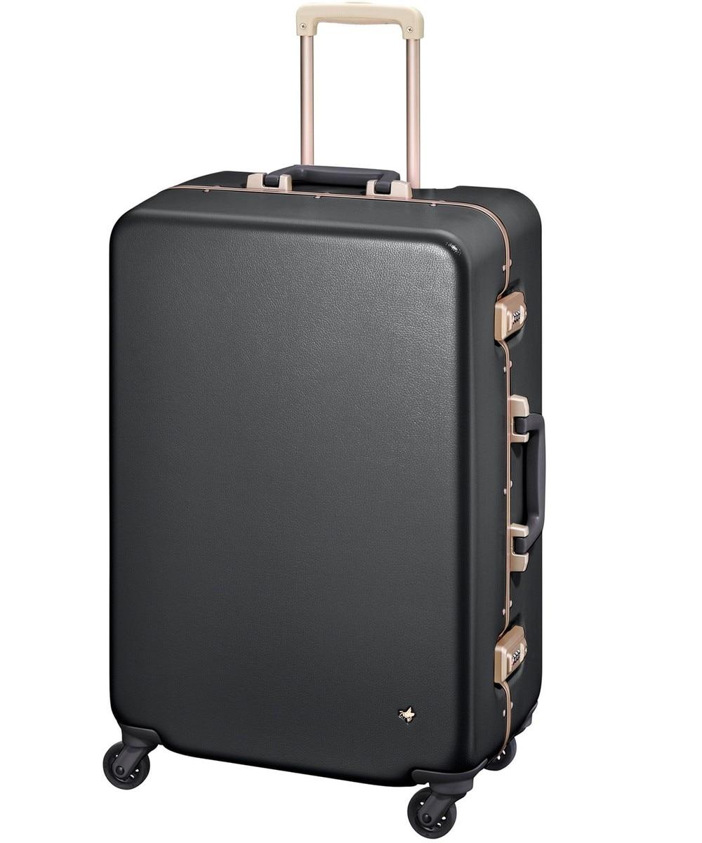 【オンワード】 ACE BAGS & LUGGAGE>バッグ ≪HaNT/ハント≫ラミエンヌ スーツケース 7泊〜10泊用 87L 05633 ネイビー F レディース 【送料無料】