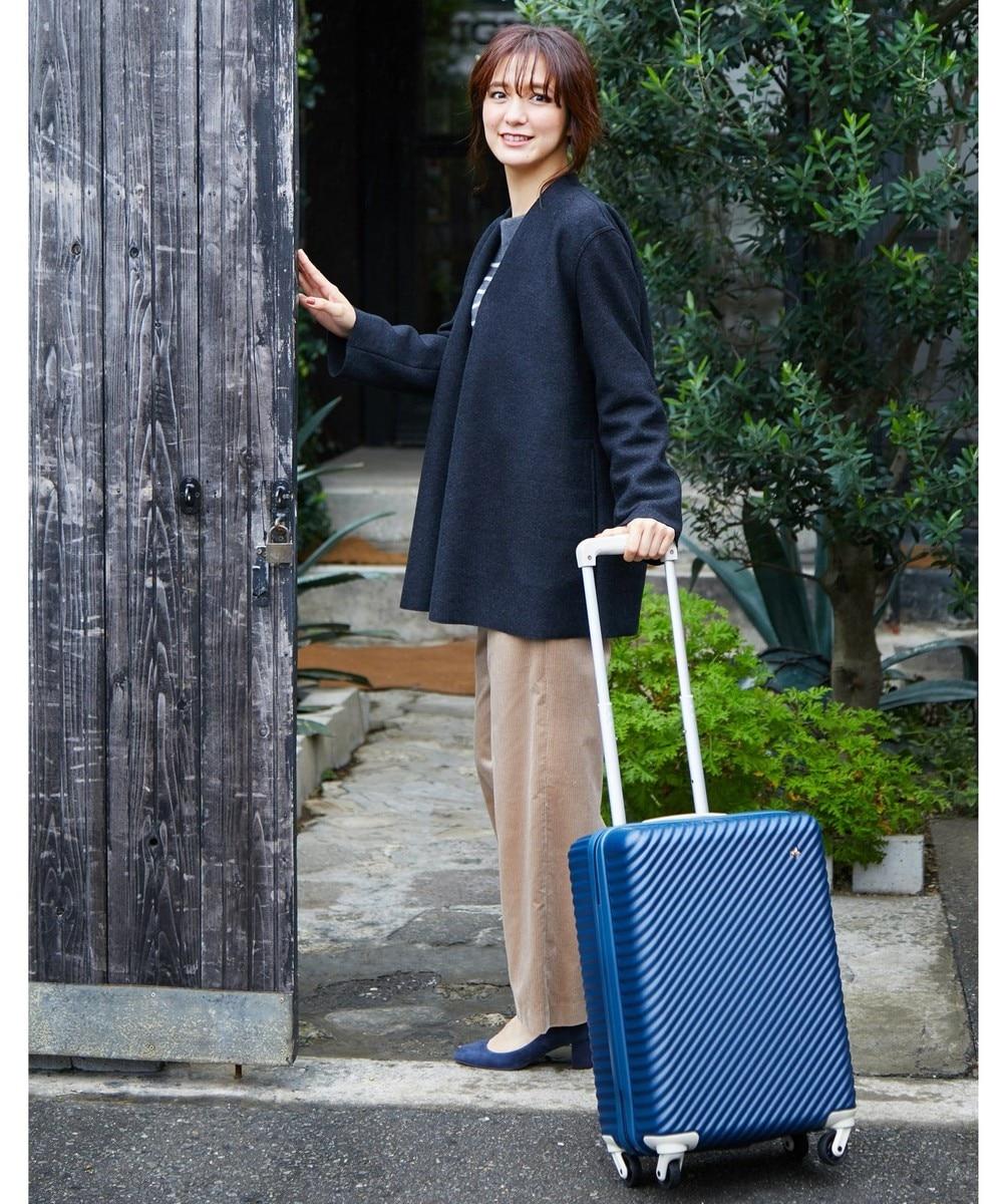 【オンワード】 ACE BAGS & LUGGAGE>バッグ ≪HaNT/ハント≫マイン スーツケース 1-2泊用 33L 機内持込 05745 ベージュ F レディース 【送料無料】