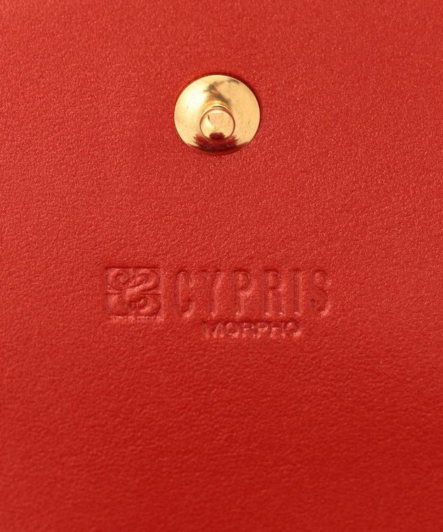CYPRIS 【カード収納10枚】 ポン コンパクトハニーセル二つ折財布 日本製