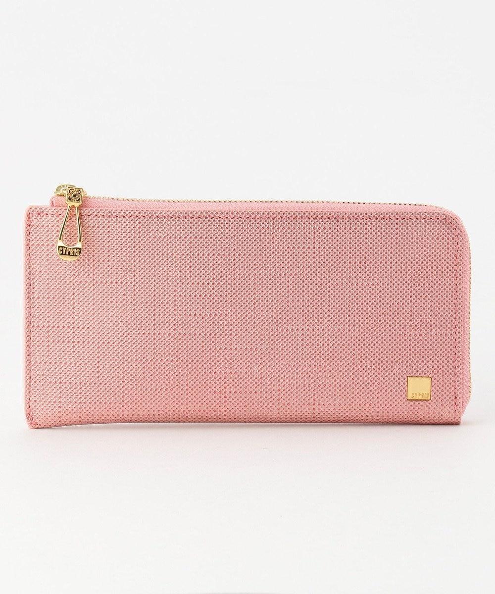 CYPRIS 【カード収納11枚】 ポン LFスリム・コンパクト長財布 日本製 ピンク[07]