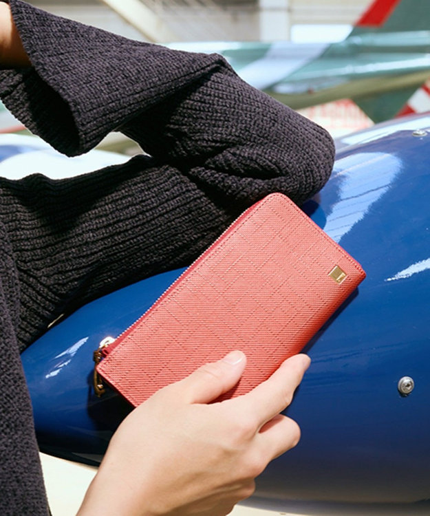 CYPRIS 【カード収納11枚】 ポン LFスリム・コンパクト長財布 日本製