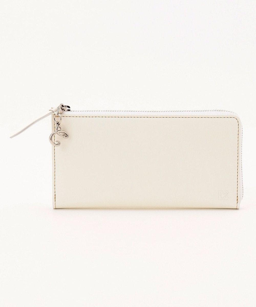 CYPRIS 【カード収納9枚】 セーリオ LFコンパクト長財布 日本製 ホワイト[00]