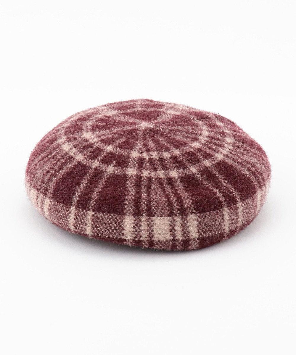 Hat Homes 【WOMEN】ミルサ チェック バスクベレー 赤