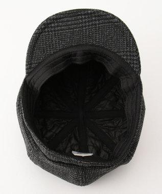 Hat Homes 【MENS】カスターノ 洗濯機で洗える キャスケット 黒