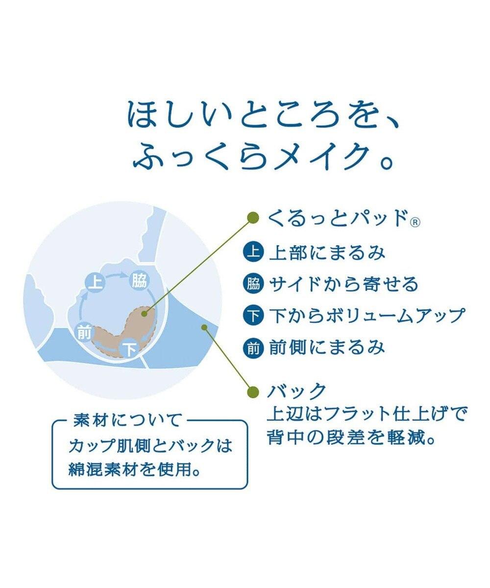 Wing 3/4カップブラ 【美たせるブラ】 ウイング/ワコール NB2783 ターコイズ