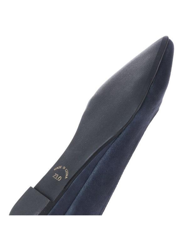 MODE ET JACOMO <FOUNTAIN BLUE>【クッション入り】ポインテッドトゥフラットパンプス
