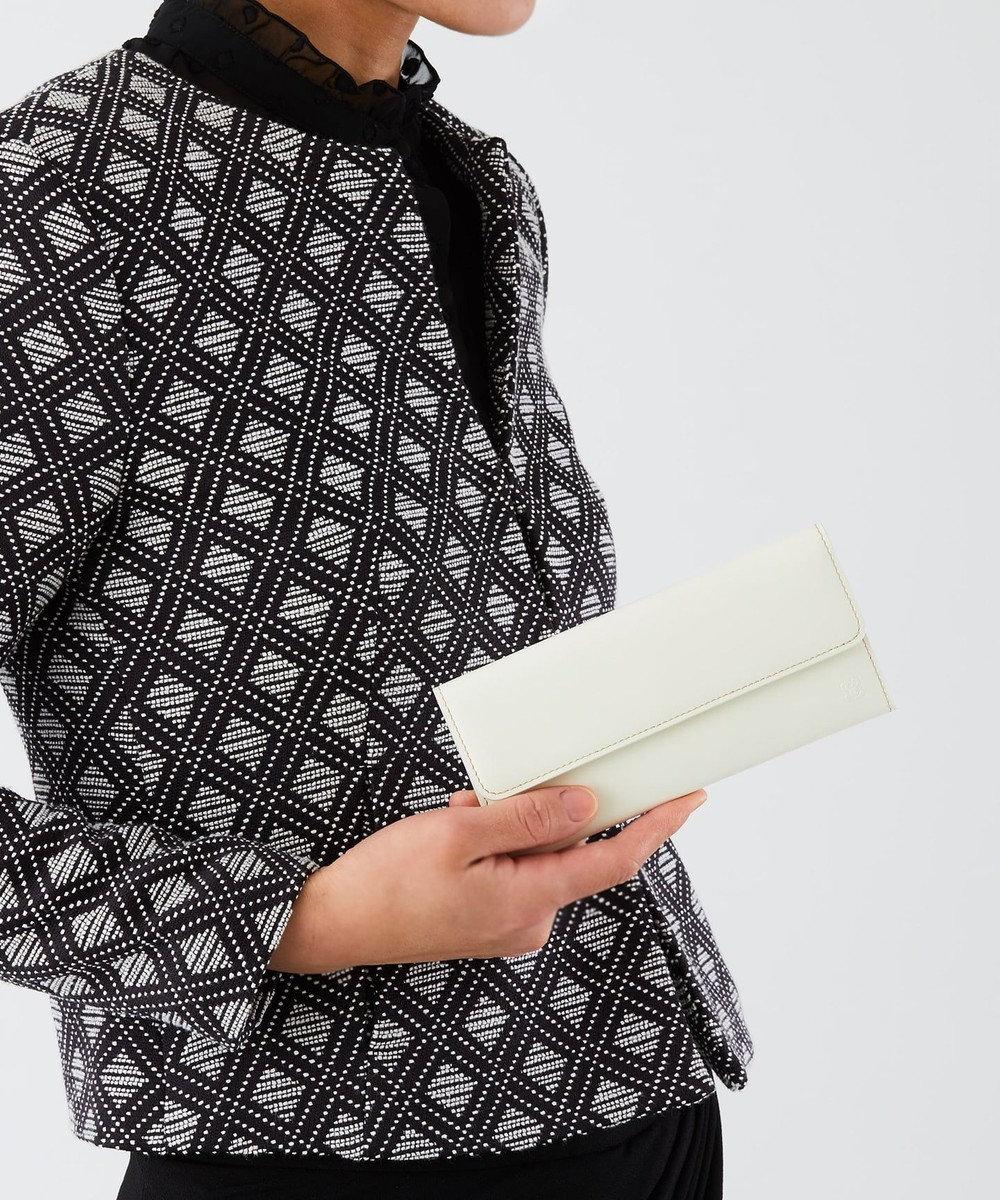 CYPRIS 【カード収納5枚】 セーリオ かぶせコンパクト長財布 日本製 ホワイト[00]