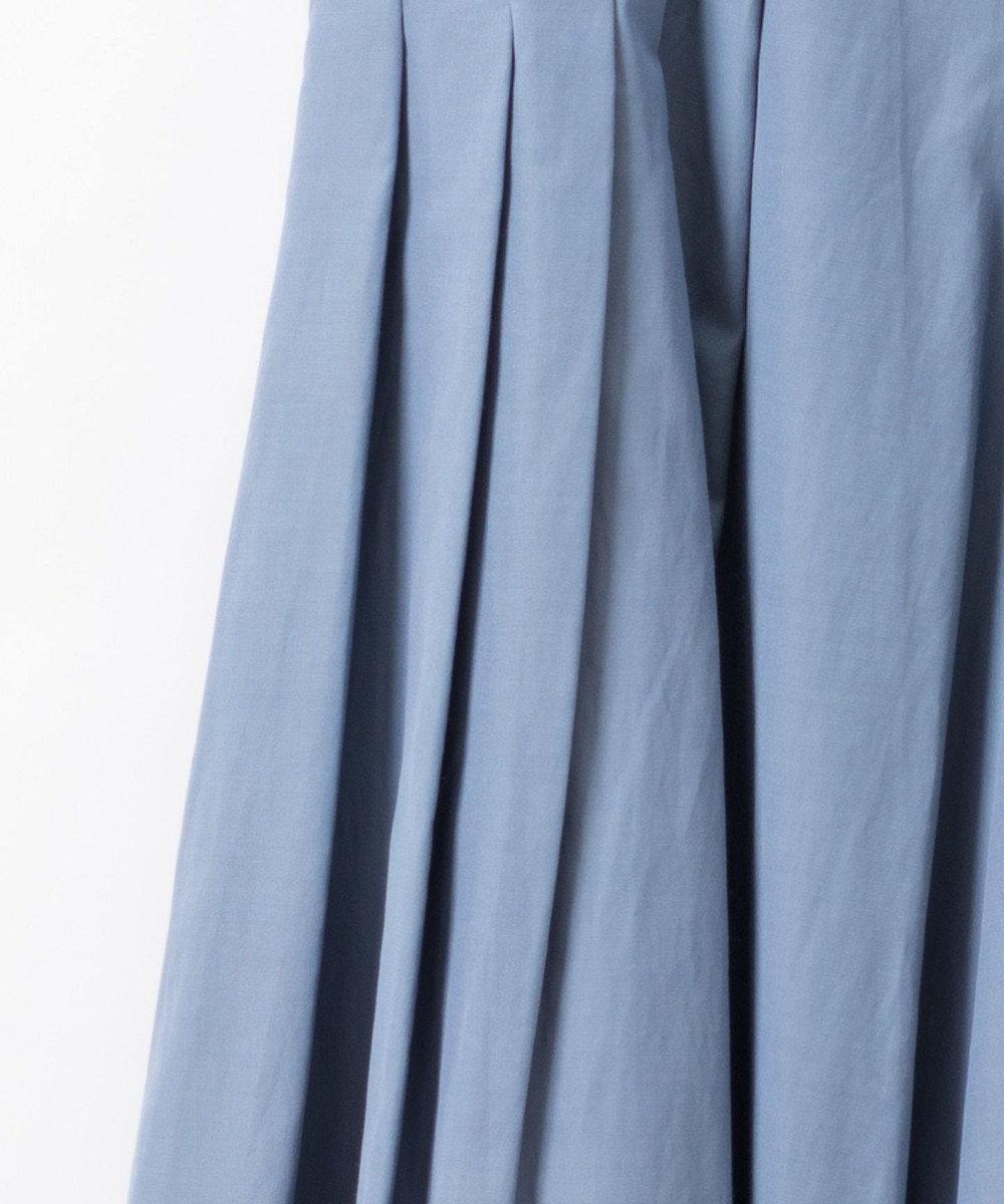GRACE CONTINENTAL タックフレアパンツ ブルー
