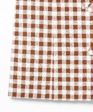 GRACE CONTINENTAL ツイードジャンパースカート ブラウン