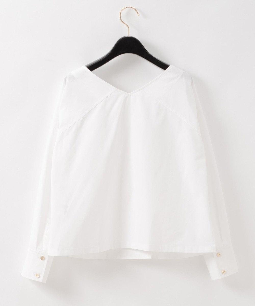 GRACE CONTINENTAL シャツダブルブラウス ホワイト
