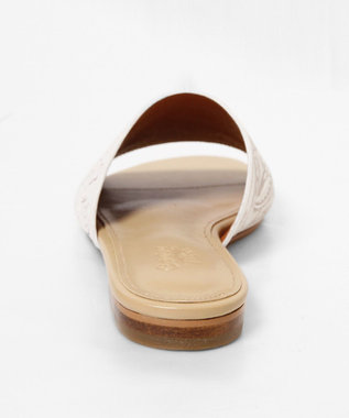 GRACE CONTINENTAL Flat Sandal ホワイト
