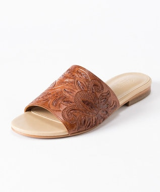 GRACE CONTINENTAL Flat Sandal ブラウン