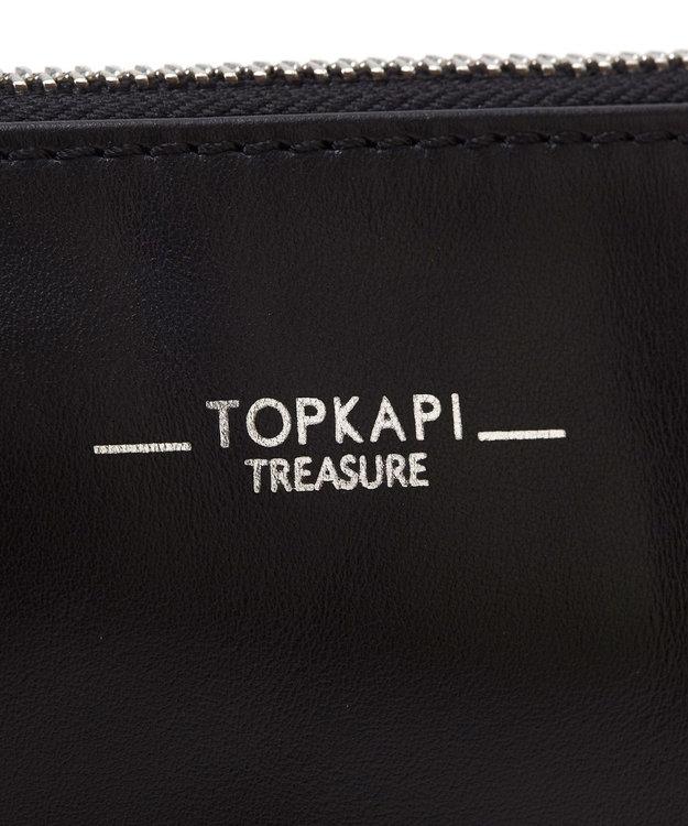 TOPKAPI スムースレザースタッズショルダーバッグ
