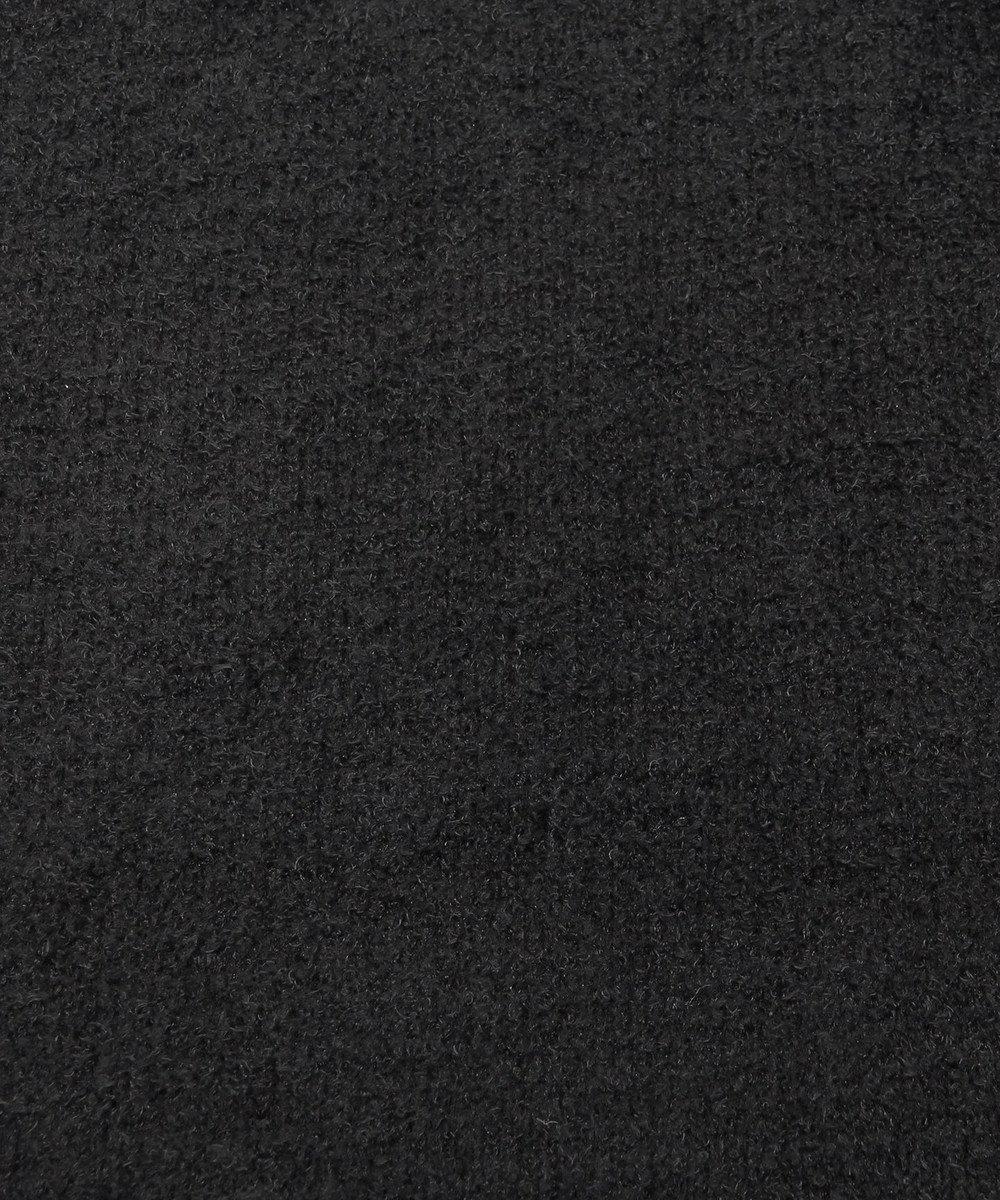 Chut! INTIMATES 【パジャマ・ルームウェア】 モールニットロング ローブ (C263) ブラック