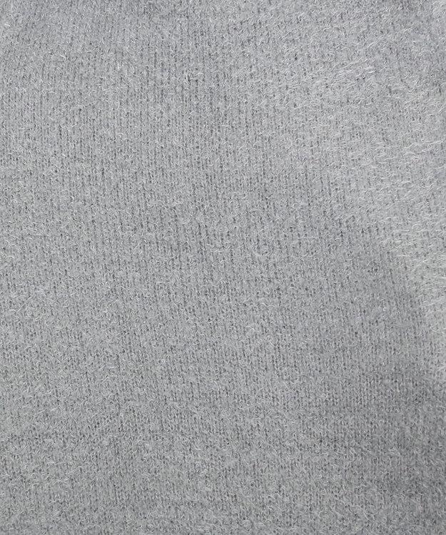 Chut! INTIMATES 【パジャマ・ルームウェア】 モールニットロング ローブ (C263) ライトグレー
