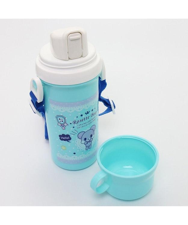 Mother garden くまのロゼット コップ付き水筒プラ水筒
