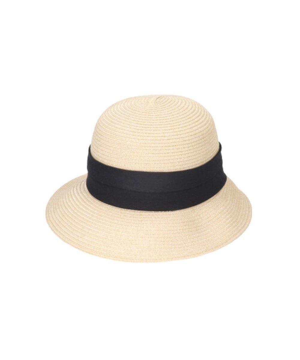 Hat Homes 【ミルサ】ウォッシュドブレードクロッシェ ベージュ