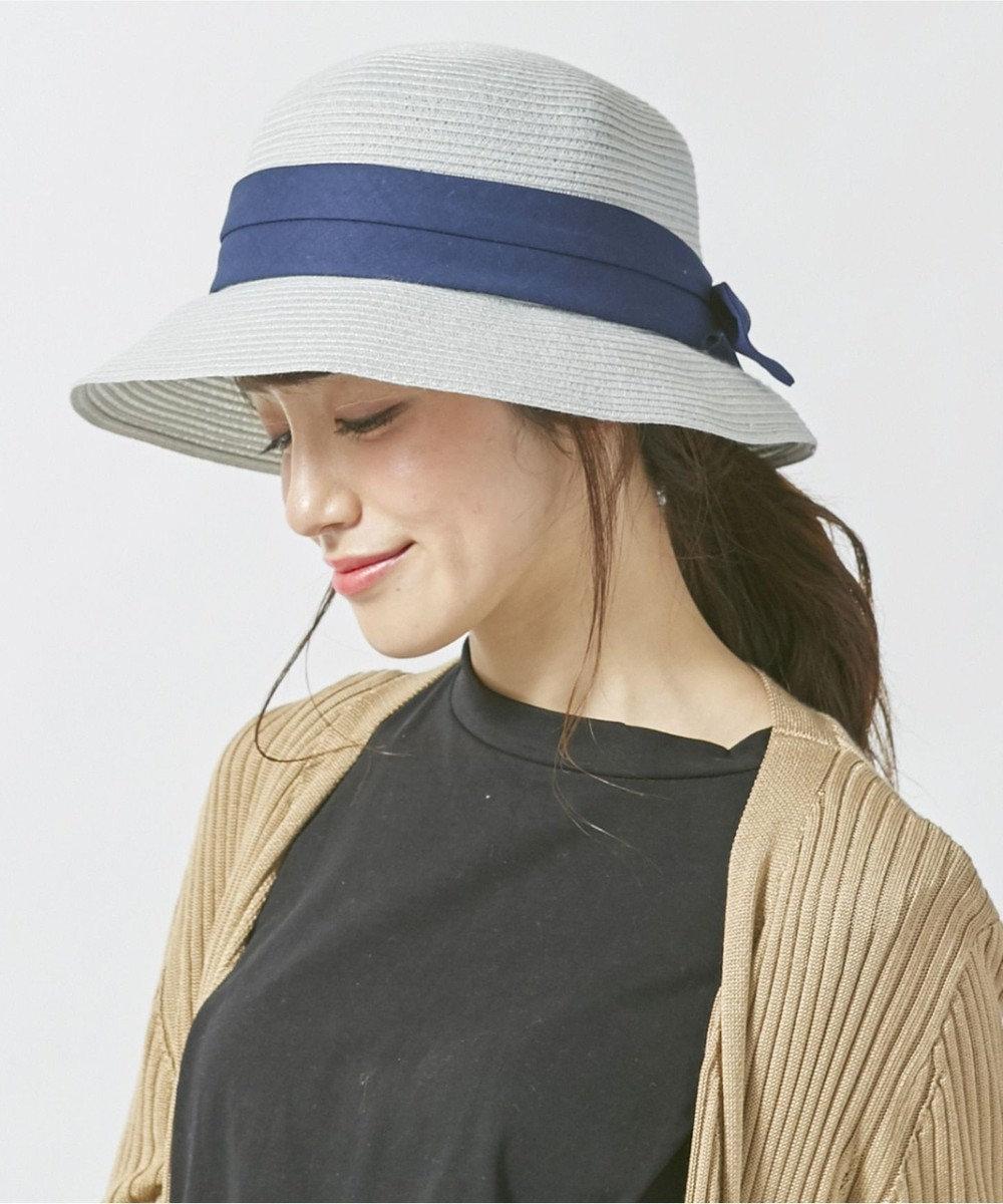 Hat Homes 【ミルサ】ウォッシュドブレードクロッシェ ライトブルー