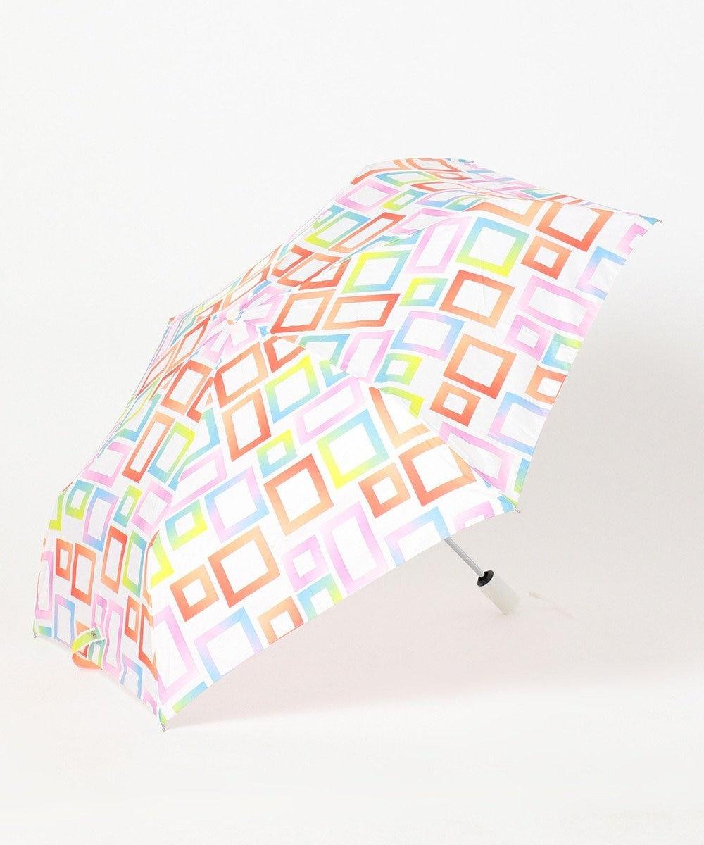 MOONBAT estaa 自動開閉折りたたみ傘 UV あまやどり レッド