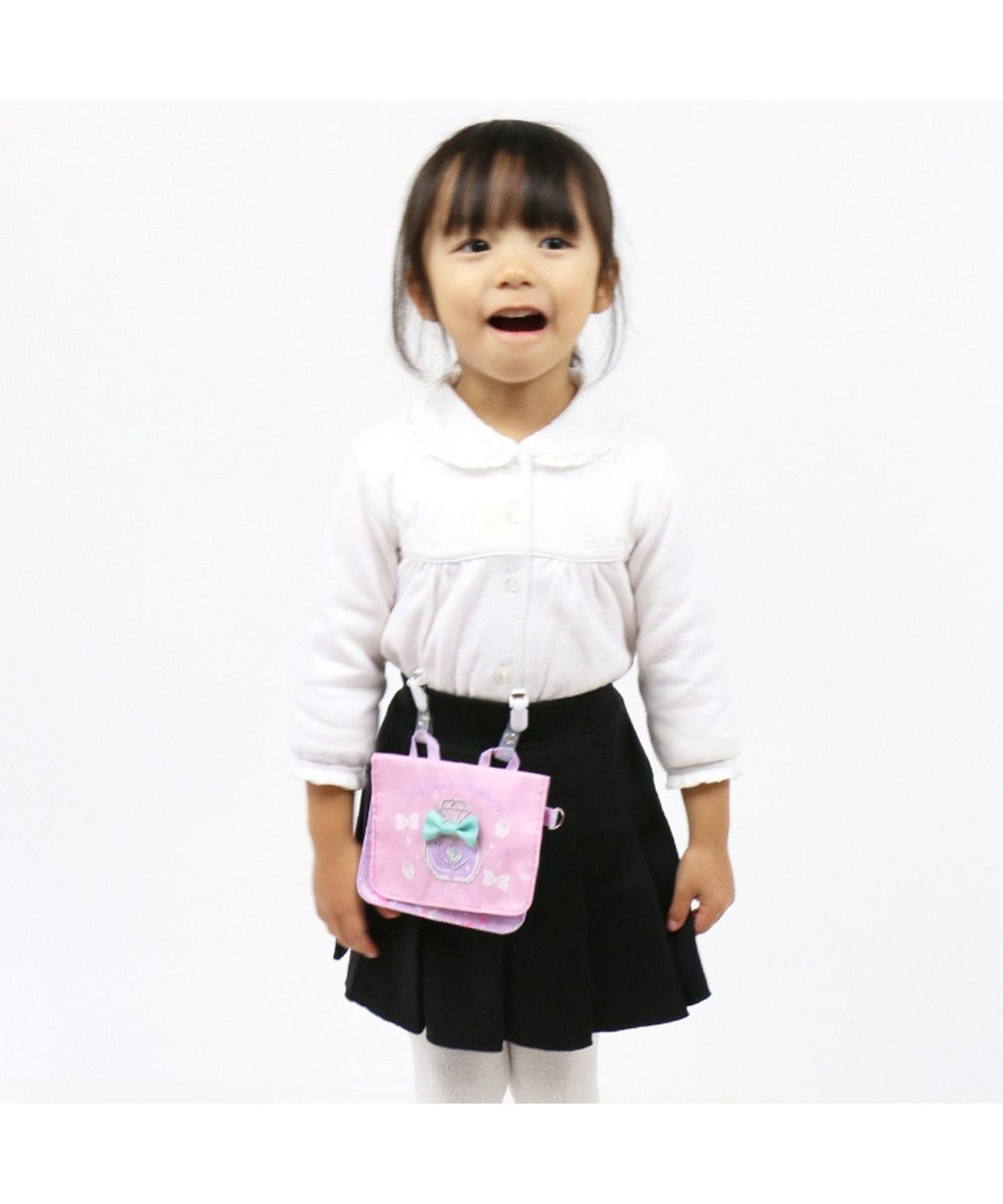 Mother garden マザーガーデン ポケットポーチ いちご 移動ポーチ 紫