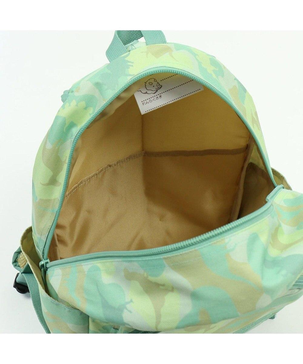 Mother garden マザーガーデン きょうりゅう日記 リュックM迷彩柄 黄緑