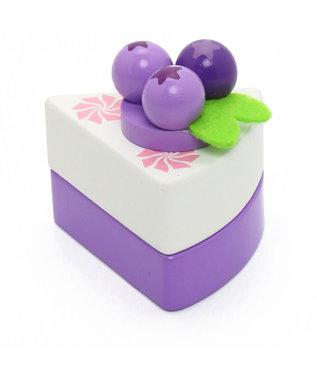 Mother garden マザーガーデン ベリーチーズケーキ 木のおままごと 紫