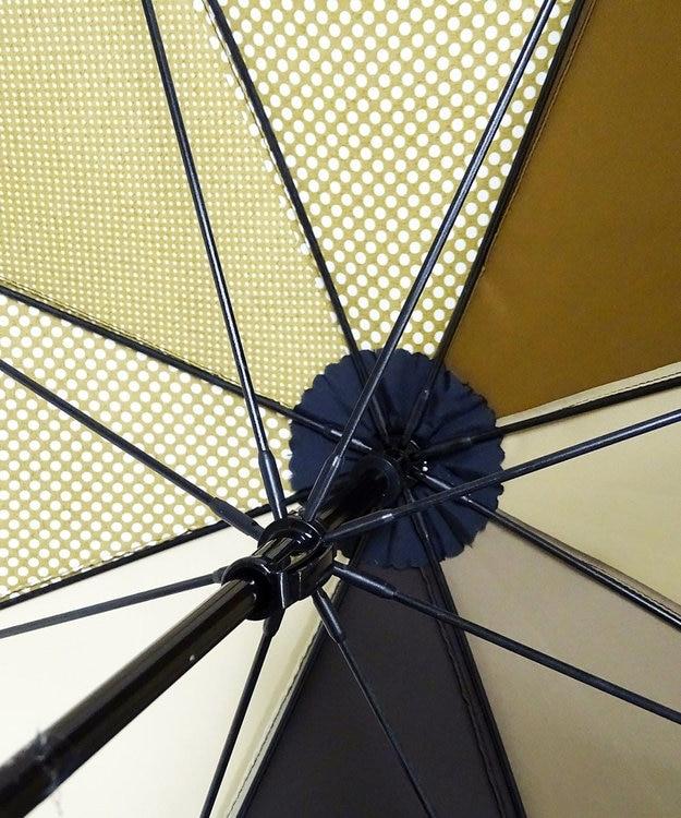 +RING 【プラスリング】数量限定 UNISEX 長傘60cm BRN-DOT T722