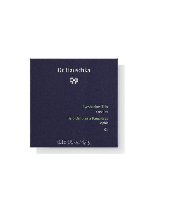 Dr.Hauschka Dr.ハウシュカ アイシャドウ トリオ - 01サファイア