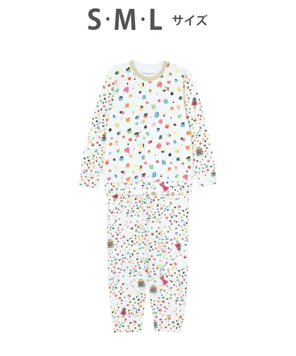 tsumori chisato SLEEP ドット 綿100% パジャマ /ワコール UDO131 アイボリー