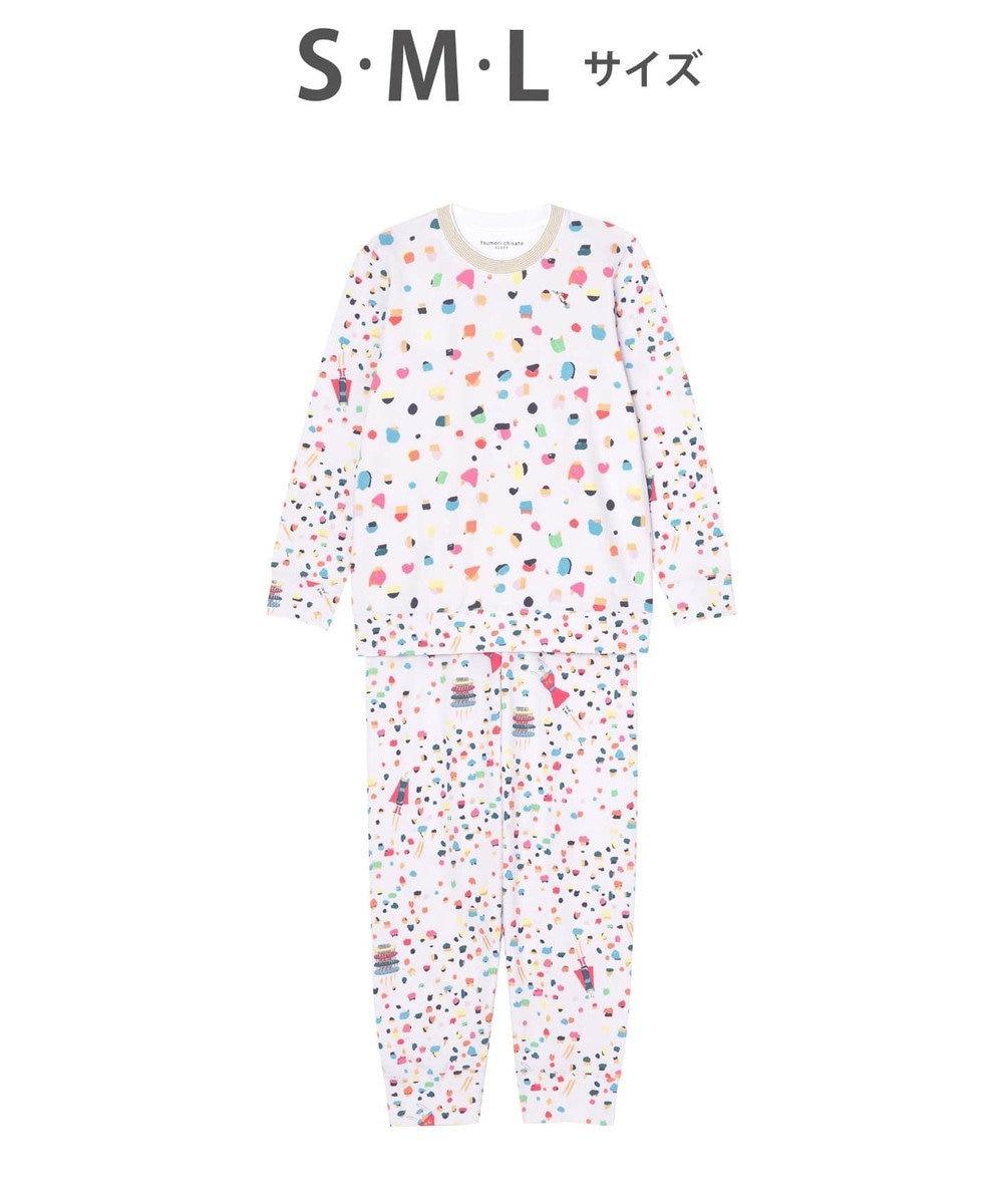 tsumori chisato SLEEP ドット 綿100% パジャマ /ワコール UDO131 ピンク
