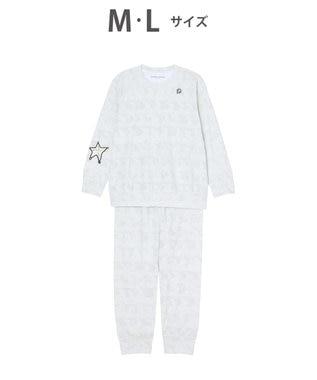 tsumori chisato SLEEP パイル素材 パジャマ /ワコール UDO137 グレー