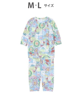 tsumori chisato SLEEP 8分袖+8分丈 パジャマ /ワコール UDO141 ブルー