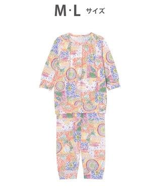 tsumori chisato SLEEP 8分袖+8分丈 パジャマ /ワコール UDO141 オレンジ