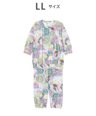 tsumori chisato SLEEP 8分袖+8分丈 パジャマ /ワコール UDO141 パープル