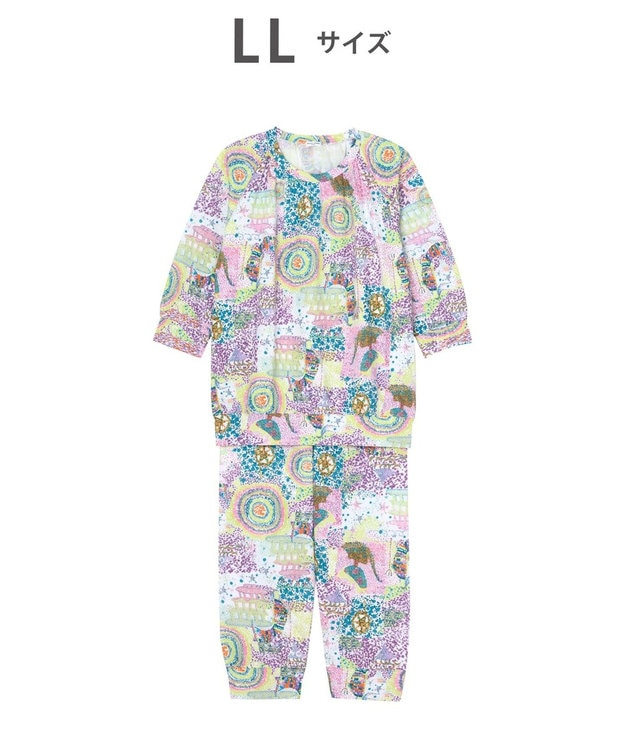 tsumori chisato SLEEP 8分袖+8分丈 パジャマ /ワコール UDO141