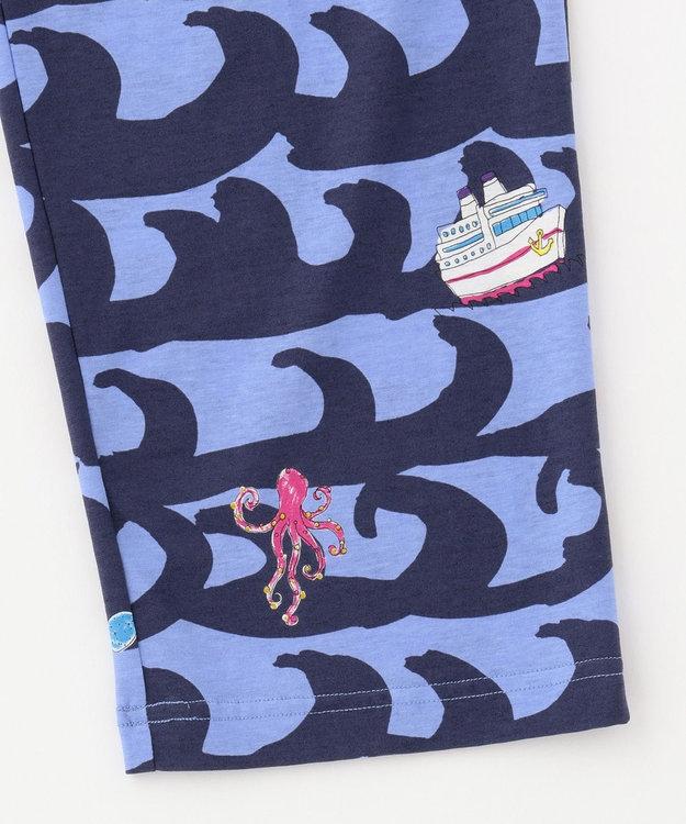 tsumori chisato SLEEP 5分袖+ロング丈  トートバック付  メンズパジャマ/ワコール UGO203