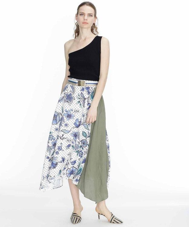 GRACE CONTINENTAL バティックフラワースカート