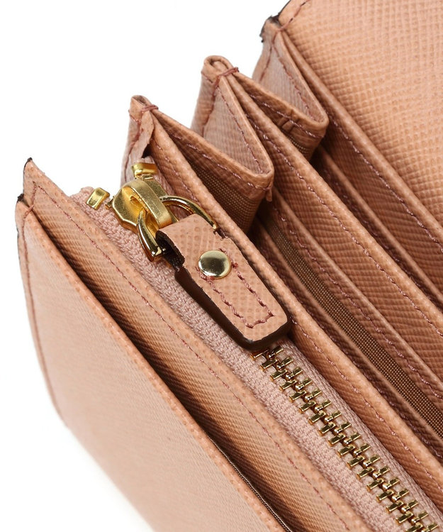 TOPKAPI 角シボ型押し・かぶせのフタ長財布 CLASSICO クラシコ