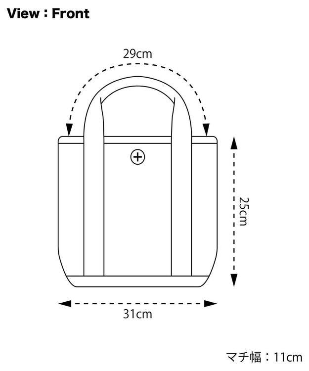 +RING 撥水ミニトートバッグ S CHK SR255